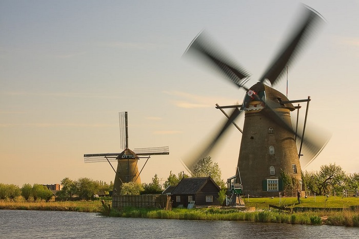 Amsterdam day trip to Kinderdijk