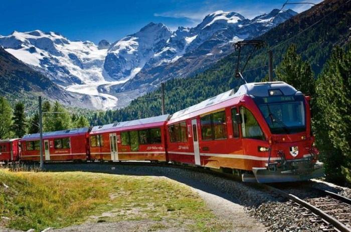 Milan day trip to St. Moritz