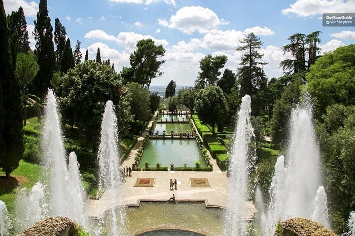 Rome day trip to Hadrian's Villa & Villa D'Este