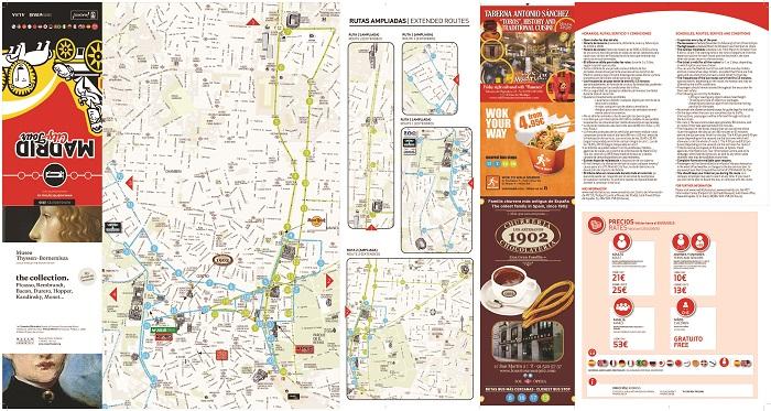 Madrid Hop On Hop Off Bus, Route Map PDF, Combo Deals 2019 ... on big bus tours los angeles, big bus tours miami map, big bus tours london map,
