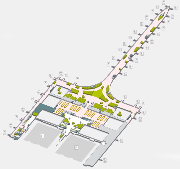 Barcelona Airport Bcn Terminal Maps Shops Restaurants Food Court 2021