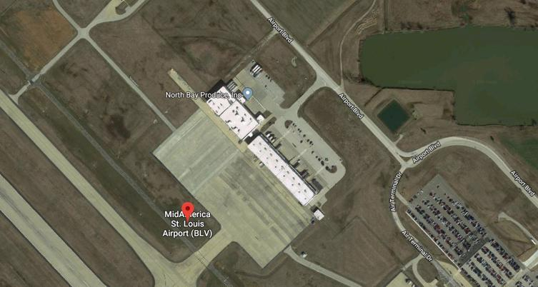 Mid America St. Louis Airport(BLV) Terminal Maps, Shops ...
