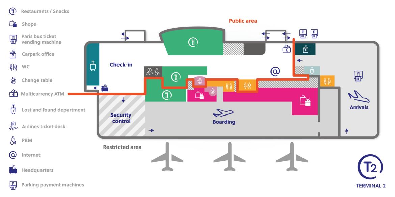 Paris-Beauvais Airport Map (BVA) - Printable Terminal Maps ...