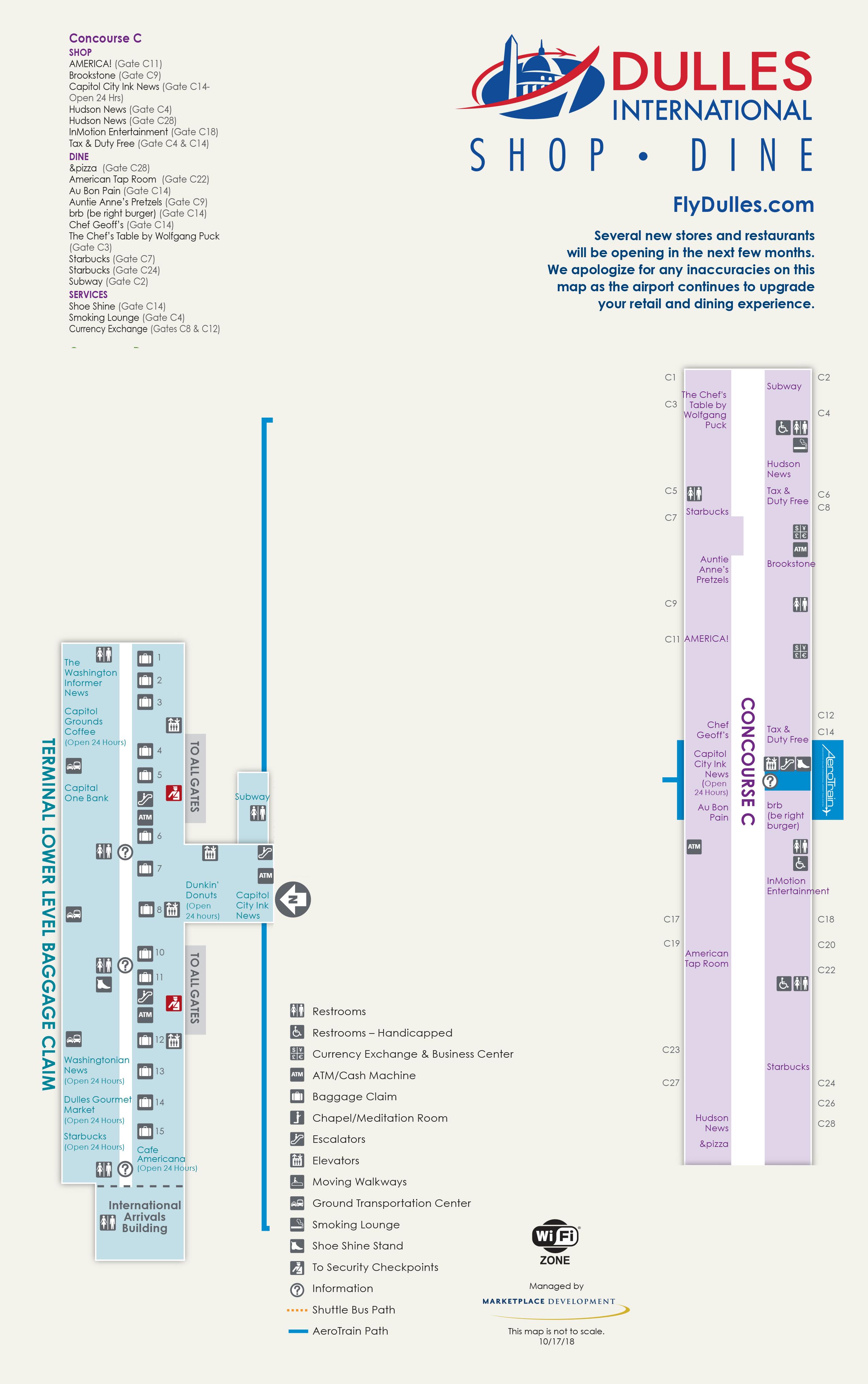 Dulles Airport Map (IAD) - Printable Terminal Maps, Shops ... on salt lake city terminal map, miami international terminal map, o'hare airport terminal map, sna terminal map, bos terminal map, mdw terminal map, phoenix terminal map, international airport terminal map, baltimore terminal map, pearson airport terminal map, logan terminal map, st. louis terminal map, lga terminal map, detroit airport terminal map, chicago terminal map, las vegas terminal map, rdu terminal map, united airlines terminal map, tpa terminal map, msp terminal map,