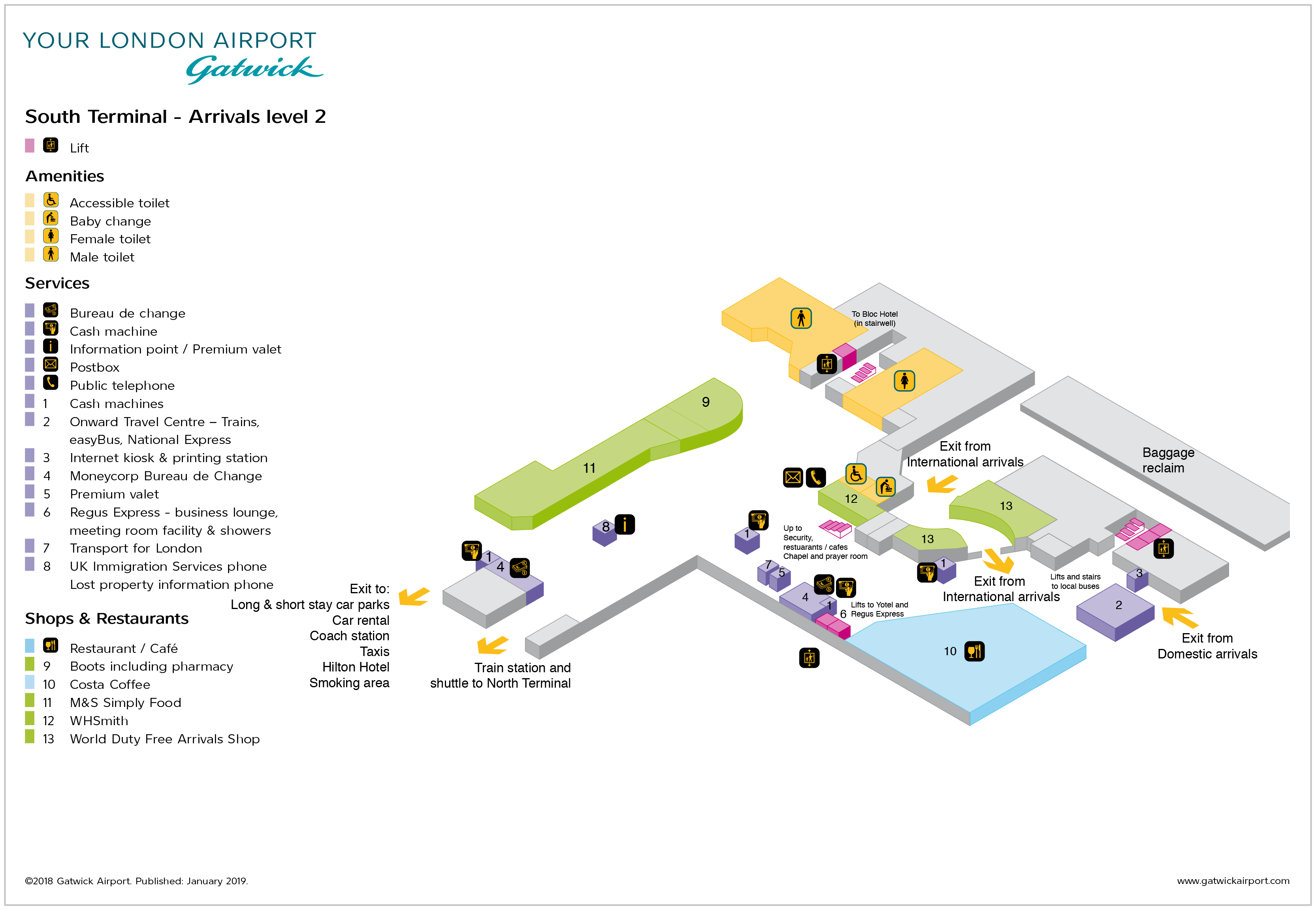 Gatwick Airport Map (LGW) - Printable Terminal Maps, Shops ... on charles de gaulle international airport, los angeles international airport, copenhagen airport, edi airport map, afonso pena international airport map, dublin airport, lgw airport map, orlando international airport, united airlines seatac airport map, amsterdam schiphol airport, chennai international airport map, noi bai international airport map, thomas cook airlines, london stansted airport, monarch airlines, edinburgh airport, providenciales international airport map, john f. kennedy international airport, syracuse hancock international airport map, heathrow airport map, frankfurt airport map, hong kong international airport, baghdad international airport map, dubai international airport, newark liberty international airport, london heathrow airport, airport taxi map, london city airport, frankfurt international airport, dublin airport map, durham airport map, chhatrapati shivaji international airport map, san francisco airport map, reading airport map, aalborg airport map, london map, malta international airport map,