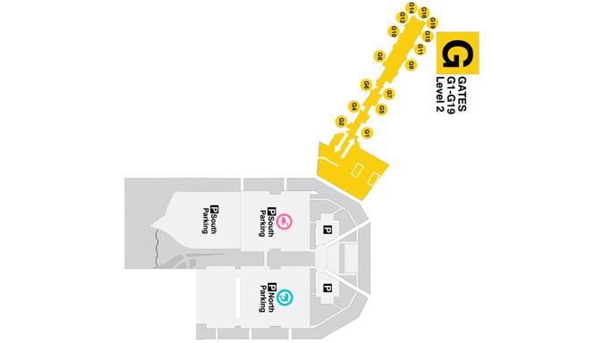 miami airport(mia) terminal maps   maps of shops