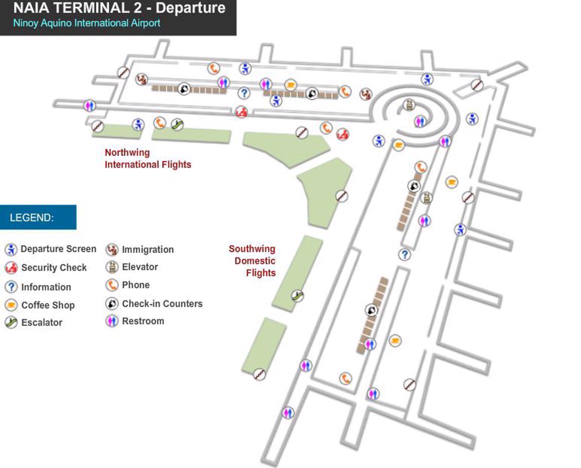 Ninoy Aquino Airport Map Mnl Printable Terminal Maps Shops