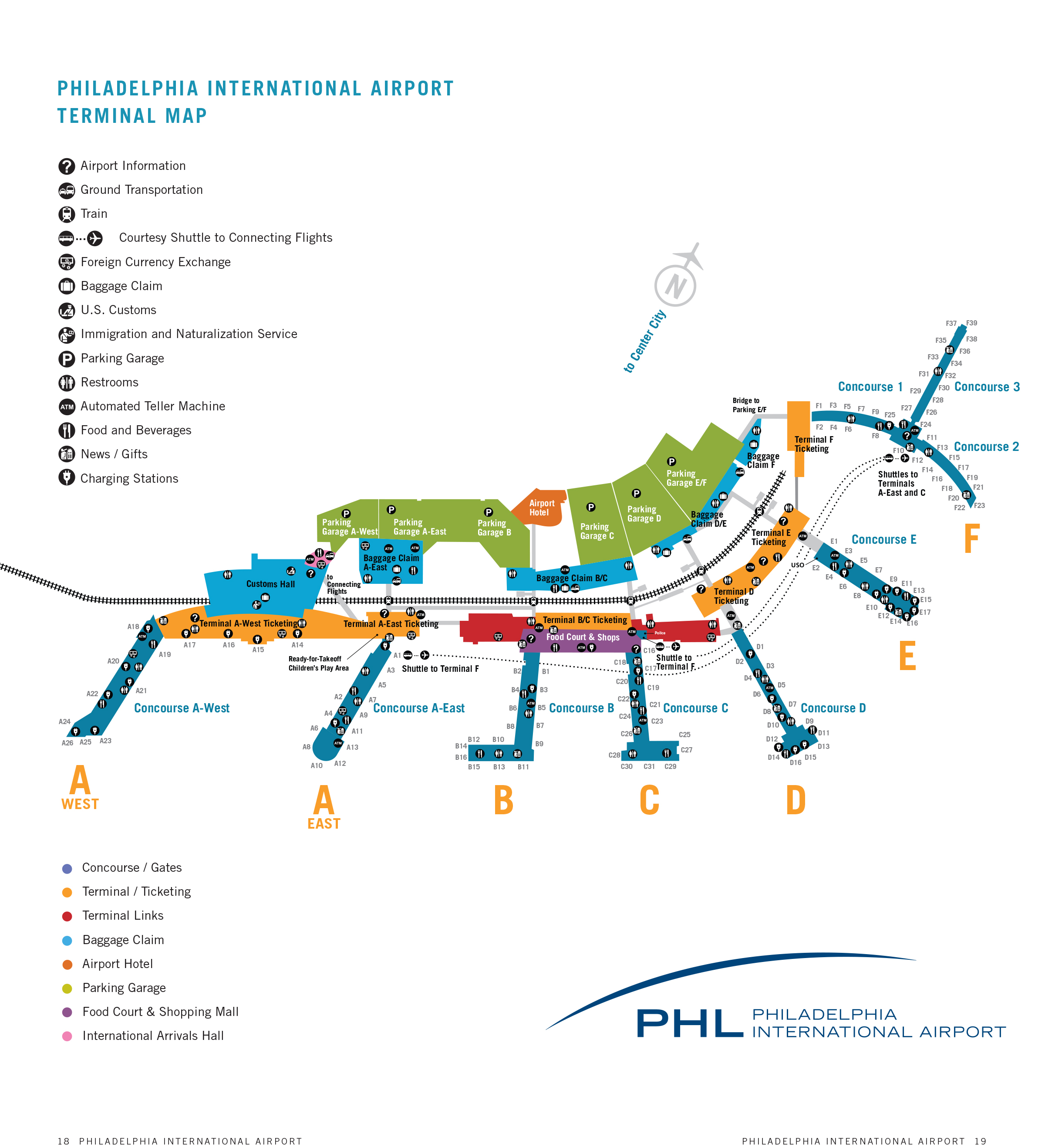 Philadelphia International Airport Map (PHL) - Printable ... on map of temple in philadelphia, map of bars in philadelphia, map of districts in philadelphia, map of colleges in philadelphia, map of towns in philadelphia, map of rivers in philadelphia, map of hospitals in philadelphia, map of airport in philadelphia, map of trains in philadelphia, map of cities in philadelphia, map of museums in philadelphia,