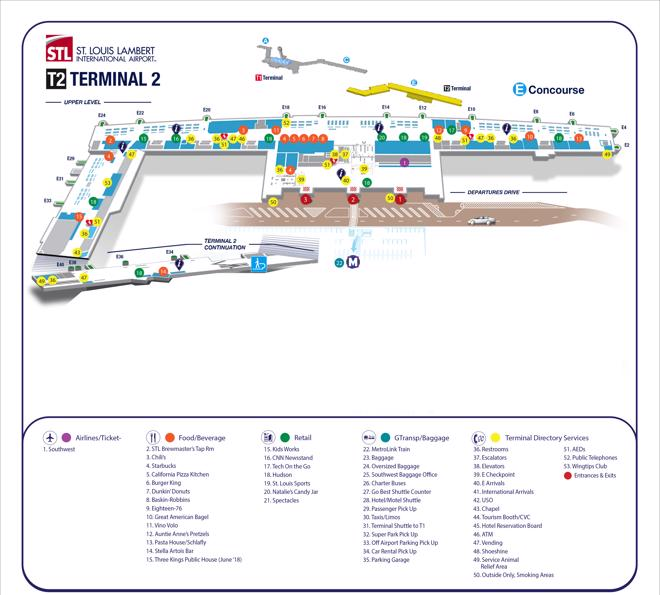 map of lambert international airport 10 Private Lambert St Louis Airport Stl Transfers Taxi 2020 map of lambert international airport