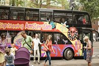 Amsterdam Bus tour + Canal boat tour
