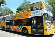 Lisbon Yellow 4 in 1 Hop-On Hop-Off Bus and Tram Tours