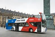 Open Tour Paris Bus Tour