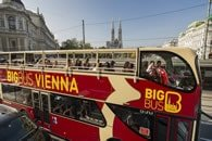 Big Bus Tour Vienna Route Map
