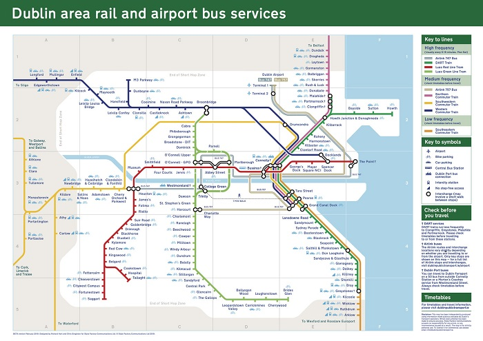 Dublin Transport Map
