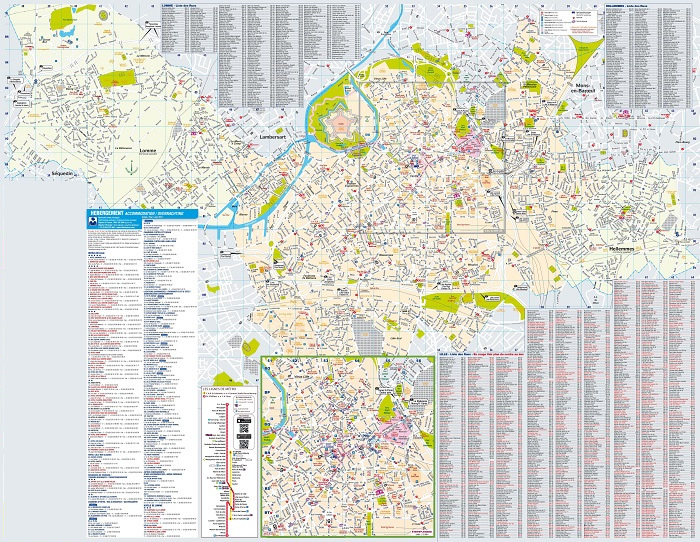 Lille Tourist Map