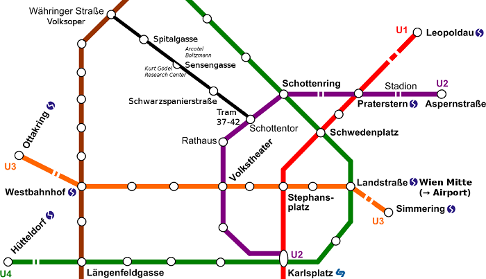 Pisa Metro Map