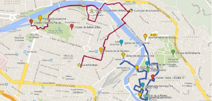 seville Walking Tour Map