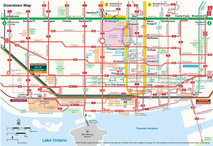 Toronto Transport Map