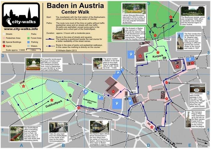 Vienna Walking Tour Map
