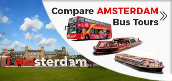 Best Amsterdam Hop-On Hop-Off Sightseeing Bus Tour with optional Canal boat cruise