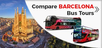 Barcelona Hop-On Hop-Off Sightseeing Bus Tour