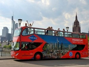 Frankfurt Hop-On Hop-Off Red Bus Tour