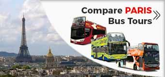 Compare PARIS Hop off Hop on Bus Tours