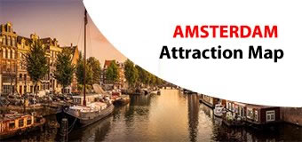 Amsterdam Attractions Map