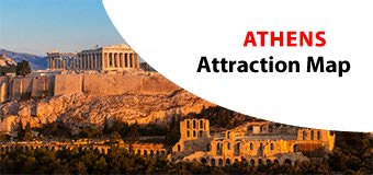 Athens Attractions Map