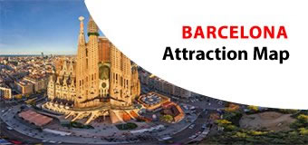 BARCELONA Attractions Maps