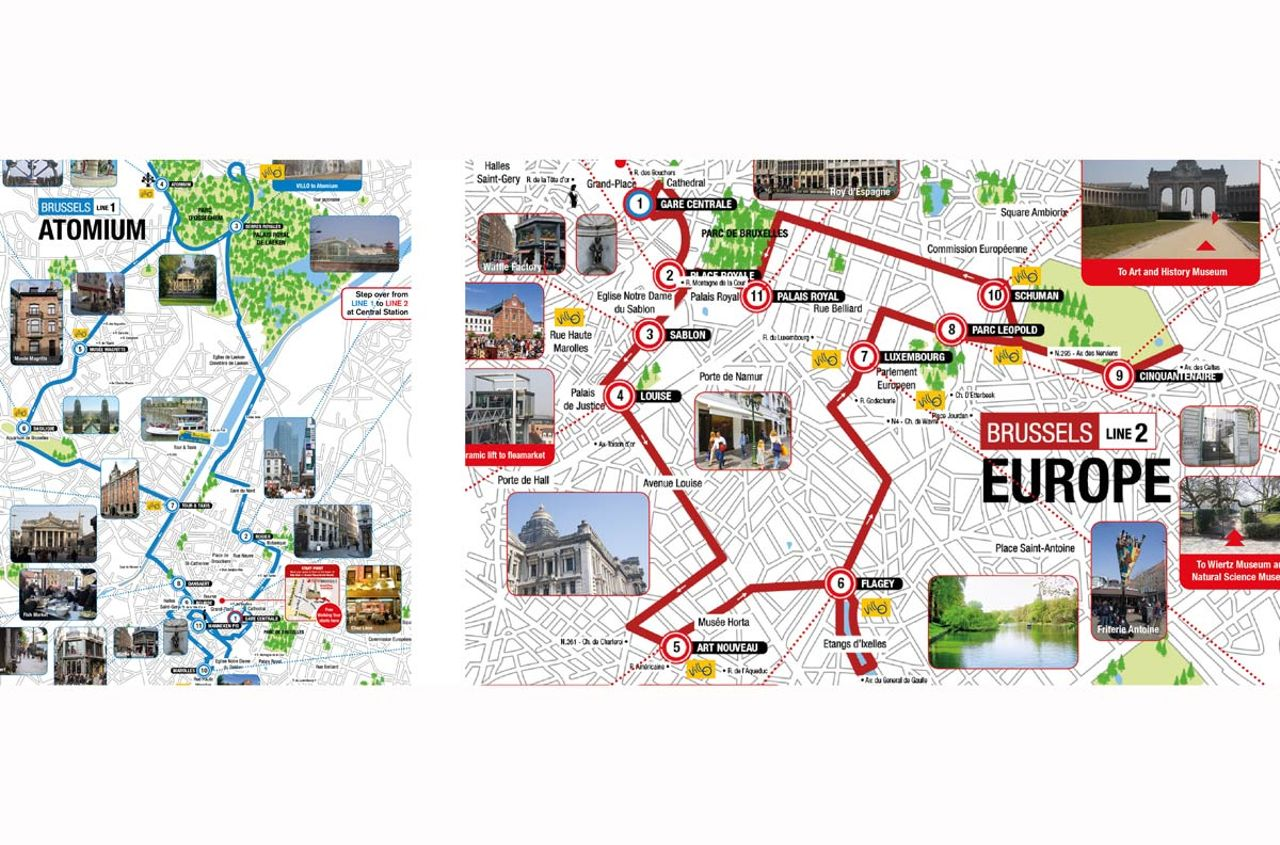 Brussels Attractions Map PDF - FREE Printable Tourist Map ...