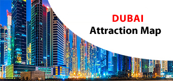 Dubai Attractions Map