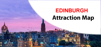 EDINBURGH Attractions Maps