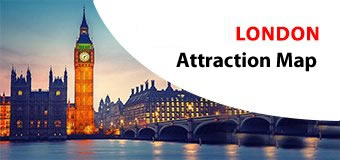 London Attractions Map