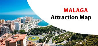 Malaga Attractions Map