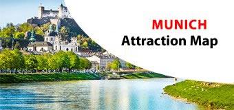 MUNICH Attractions Maps