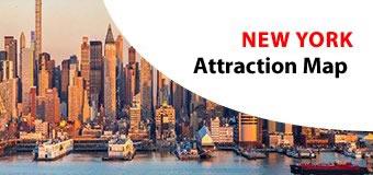 Newyork Attractions Map