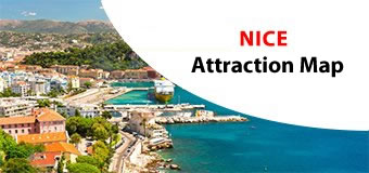 Nice Attractions Map