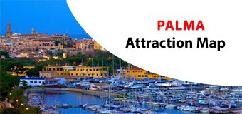 Palma Attractions Map