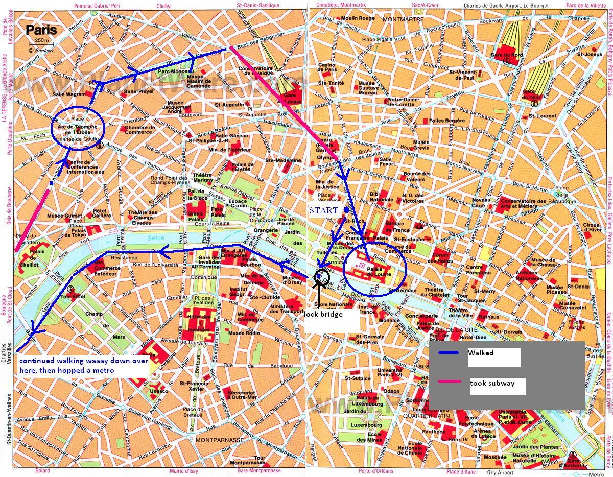 Paris Hop On Hop Off Bus, Route Map PDF, Combo Deals 2019 ...