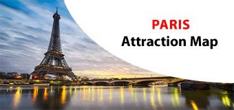 PARIS Attractions Maps