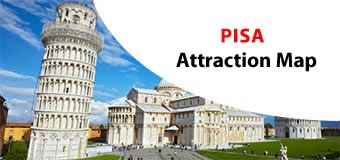 Pisa Attractions Map