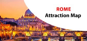 Rome Attractions Map