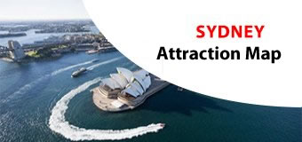 Sydney Attractions Map