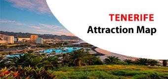 TENERIFE Attractions Maps