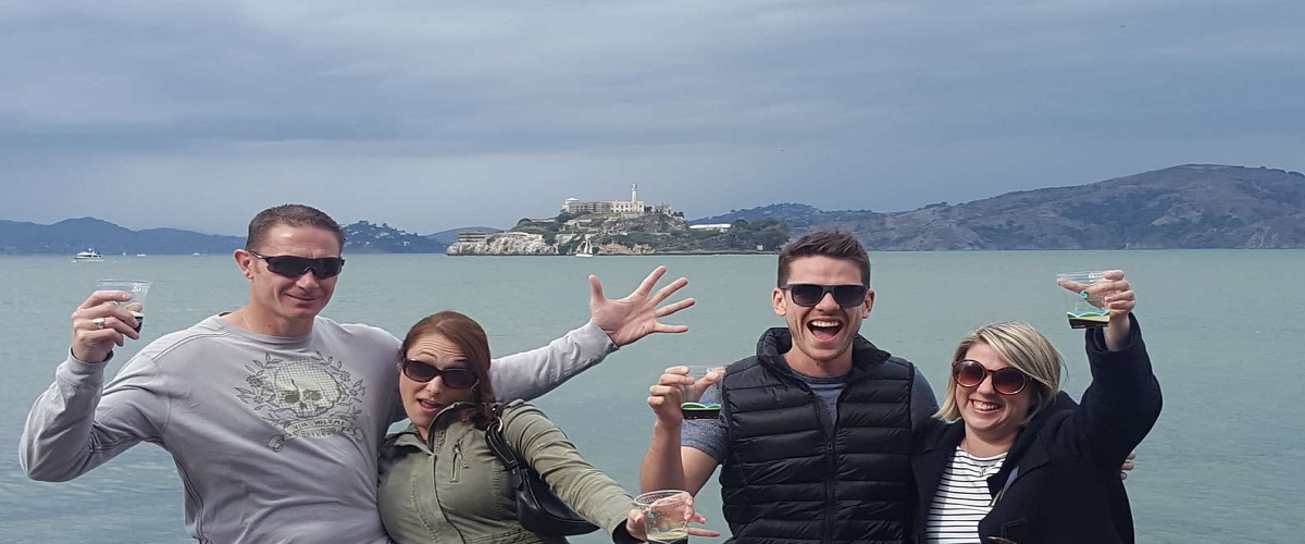 Alcatraz Admission and Small-Group Craft Brews and Bike Tour in San Francisco