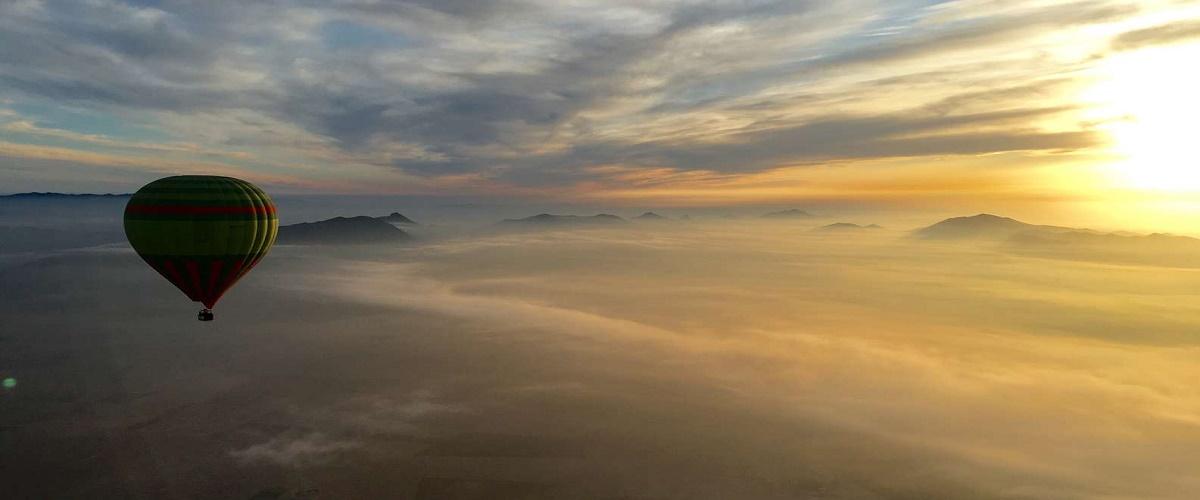 Atlas Mountains Hot Air Balloon Ride with Optional Camel Ride