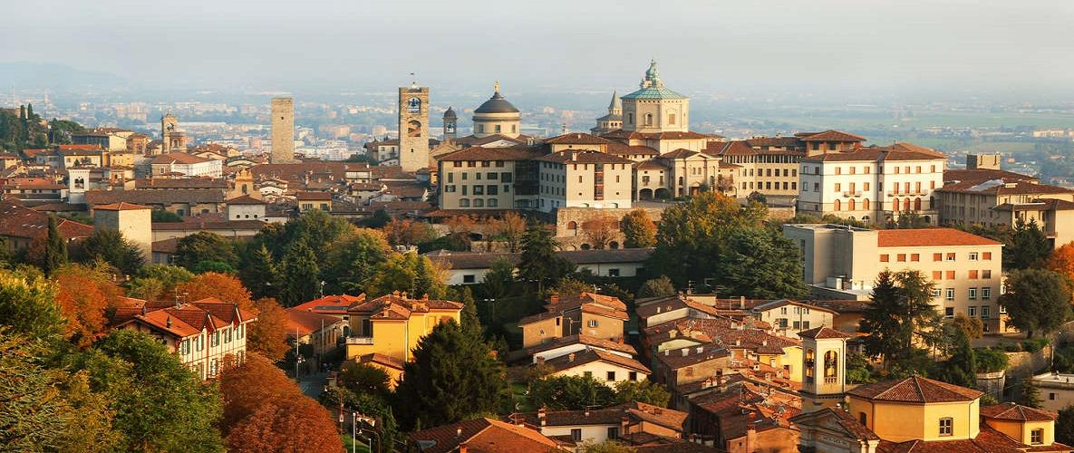 milan. 'day trip to 'Bergamo