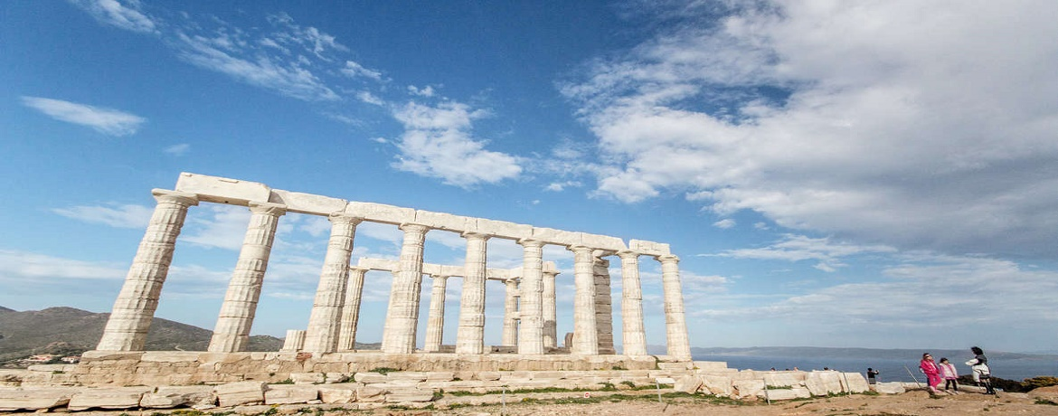 athens. 'day trip to 'Cape Sounion