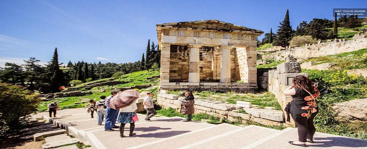 athens. 'day trip to 'Delphi
